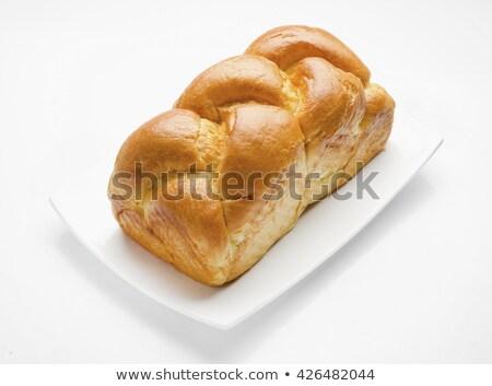 Tatlı ev yapımı ekmek haşhaş tohumları maya Stok fotoğraf © grafvision
