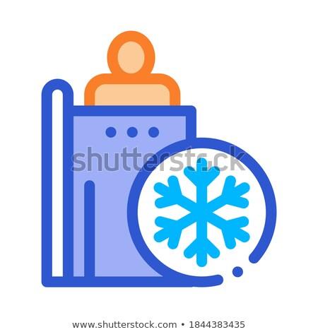 人 加熱 ポイント アイコン ベクトル 薄い ストックフォト © pikepicture