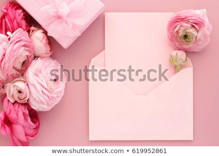 Gelukkig bloem stijl trillend vrouw Stockfoto © SArts