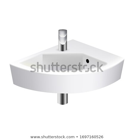 Bathroom Sink Stylish Tool For Wash Hands Vector Stock photo © pikepicture