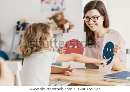 ADHD Child Counseling Stock photo © AndreyPopov