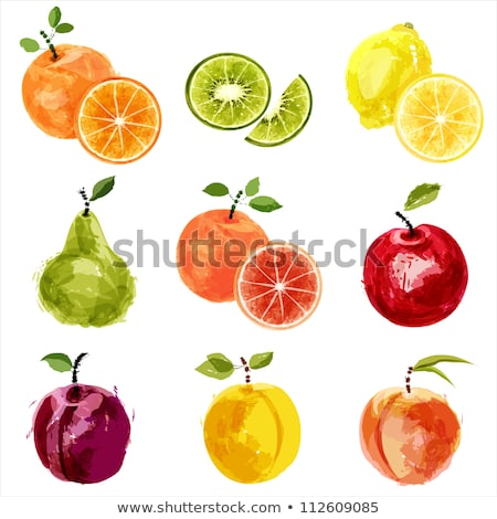 Suculento maduro frutas doce morango Foto stock © jossdiim