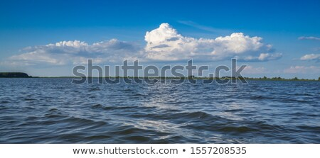 Clouds Over Water Stock photo © THP