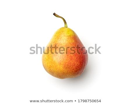 körte · akasztás · ág · gyümölcsfa · gyümölcs · zöld - stock fotó © igabriela
