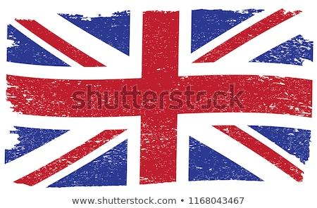 grunge flag of united kingdom stock photo © orson