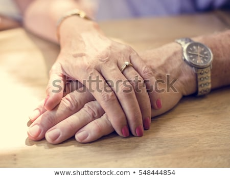sweet couple hand in hand Stock photo © vichie81