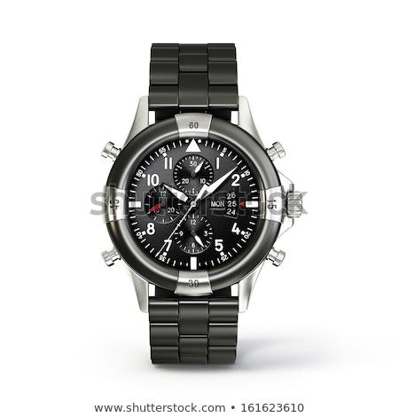 wrist watch isolated on white background Stock photo © rumko