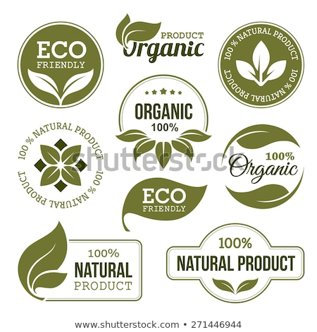 Eco Friendly Emblem Stock photo © adamson