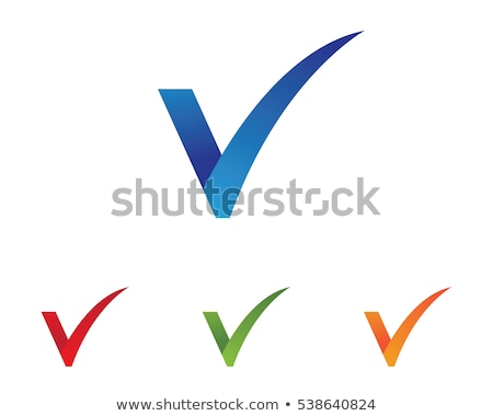 Glossy Icons for letter V stock photo © cidepix