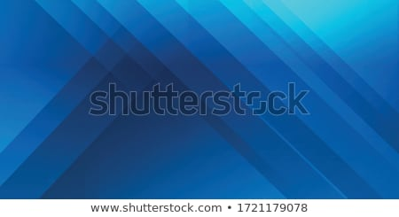 Blue abstract star shape Stock photo © wenani
