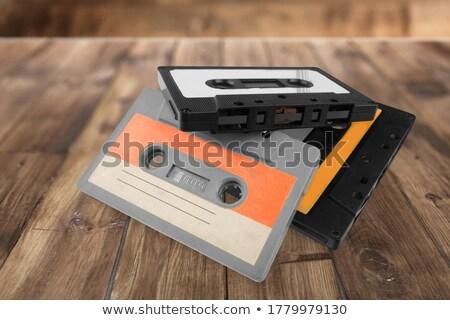 аудио · кассету · иллюстрация · музыку · технологий · информации - Сток-фото © stocksnapper