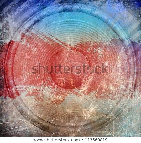 koszos · absztrakt · grunge · hangfal · festék · művészet - stock fotó © fet