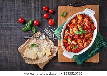 ディナー フォーク 食べる ランチ ジャガイモ 食事 ストックフォト © M-studio