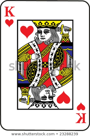 king of hearts concept stock photo © krisdog