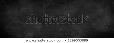Smudged black chalkboard background Stock photo © bbbar