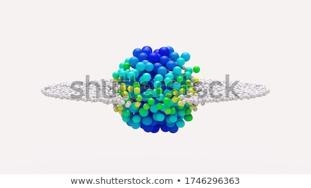 morphing particle transformation Stock photo © prill