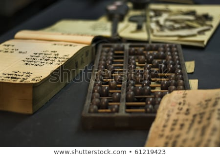 abacus in old shop Stock photo © leungchopan