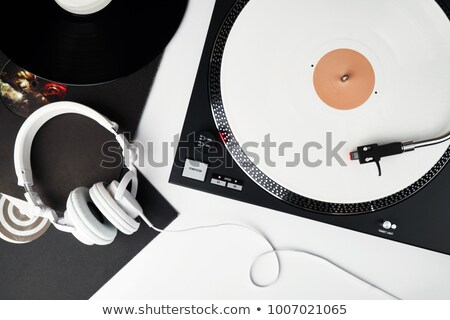 Headphones on Mixing Board Stock photo © filmstroem