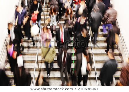 Stock photo: Asian rush hour traffic