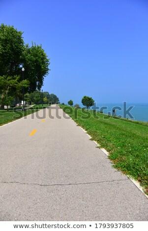 垂直 海 風景 地平線 3番目の 行 ストックフォト © pzaxe