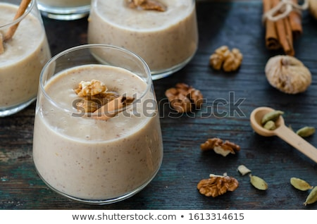 fig dessert Stock photo © M-studio