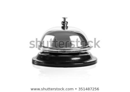 ヴィンテージ · サービス · 鐘 · 古い · ホテル · 受付 - ストックフォト © blotty
