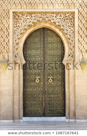 Moroccan door handles Stock photo © danielgilbey
