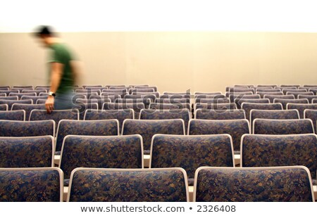 University student sat in a row Stock photo © photography33
