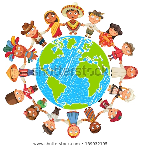 multicultural world kids  Stock photo © creative_stock