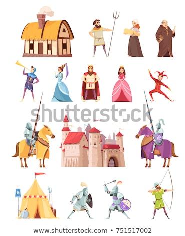 bow and arrow medieval armor stock photo © taiga
