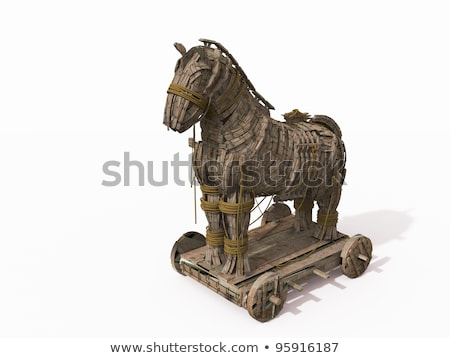 Trojan horse Stock photo © pcanzo