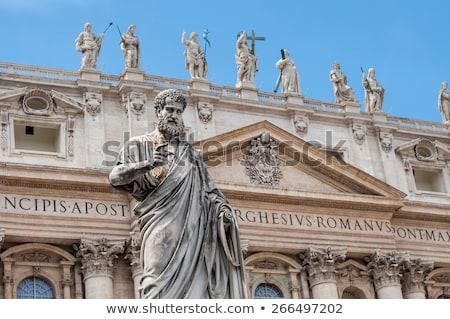 Exterior of St. Peter basilica, Vatican city Stock photo © 5xinc