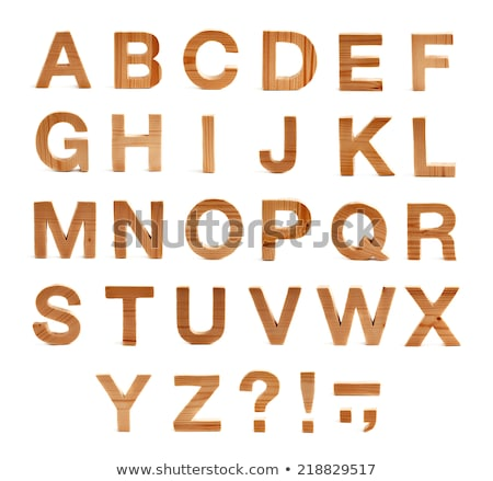 wooden text letters how stock photo © compuinfoto