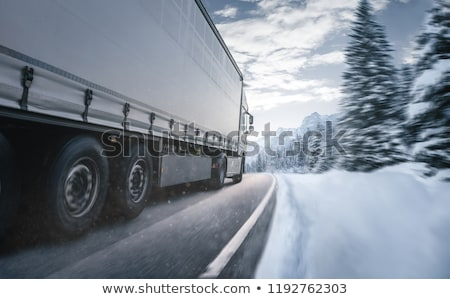 Highway in winter  Stock photo © inarts