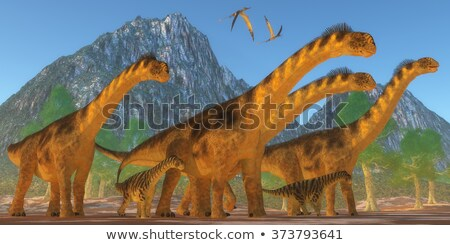 Camarasaurus Dinosaur 2 Stock photo © AlienCat