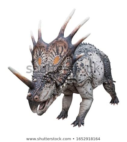 恐竜 3dのレンダリング 白 3D 孤立した は虫類 ストックフォト © AlienCat