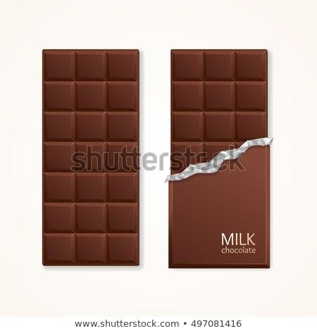 cioccolato · latte · fagioli · piedi · cucchiaio · bianco - foto d'archivio © rob_stark