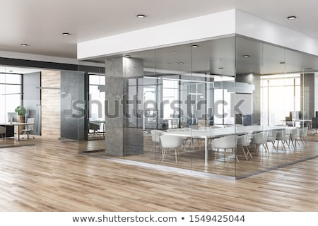 Stock photo: Interior of a new office