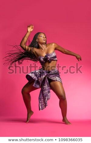 illusztráció · sziluett · tánc · lány · pólus · sztriptíztáncos - stock fotó © cteconsulting