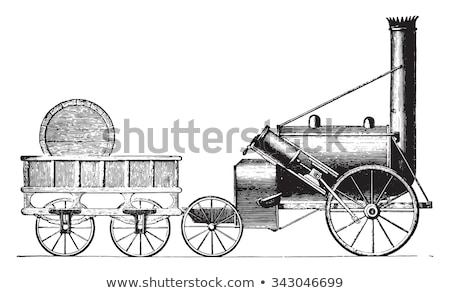 Stephenson's Rocket Stock photo © Snapshot