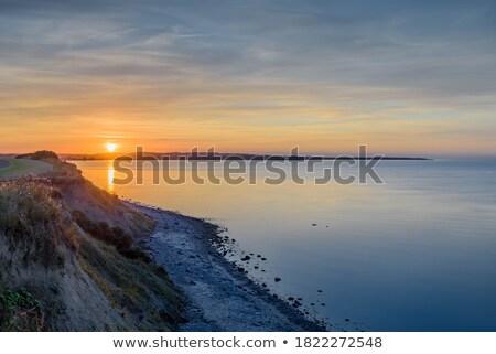 Steep coastal cliffs Stock photo © jrstock