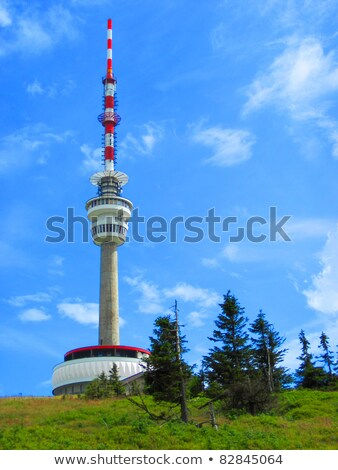 Praded (TV and GSM transmitter)  Stock photo © jonnysek