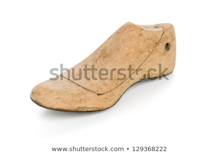 Wooden Last For A Kids Shoe Photo stock © Zerbor