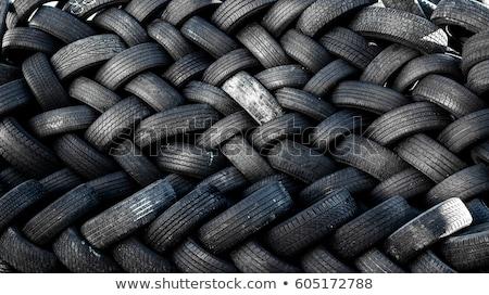 Veicolo pneumatici riciclare ecologia ambiente industria Foto d'archivio © lunamarina