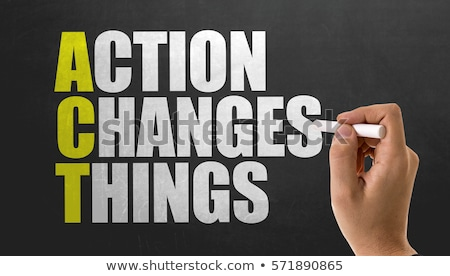 time for action concept stock photo © tashatuvango