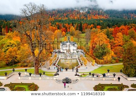 castle linderhof stock photo © magann