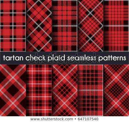 rojo · tejido · patrón · Escocia - foto stock © sanjanovakovic