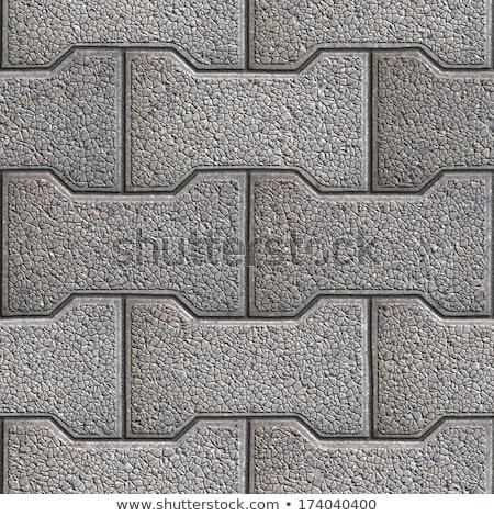 Figured Pavement. Seamless Tileable Texture. Stock photo © tashatuvango