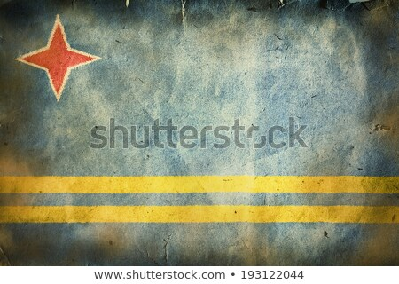 UN flag on Crumpled paper texture Stock photo © stevanovicigor