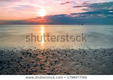 日没 北 海 太陽 光 美 ストックフォト © Arrxxx